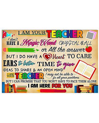 Teacher Magic Wand Poster