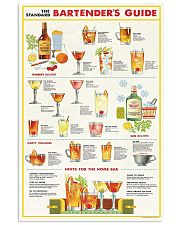 Bartender Guide Poster 11x17 Poster front