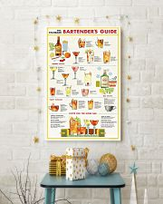Bartender Guide Poster 11x17 Poster lifestyle-holiday-poster-3