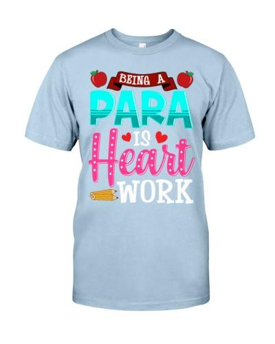 Paraeducator Heart Work