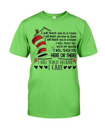 Teacher Because Care