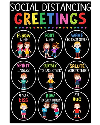 Class Social Distancing Poster