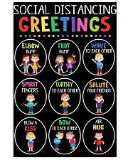 Class Social Distancing Poster 11x17 Poster front