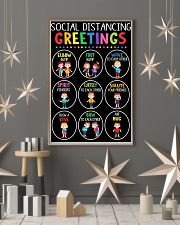 Class Social Distancing Poster 11x17 Poster lifestyle-holiday-poster-1
