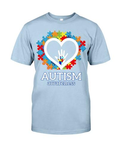 Autism Heart Hand