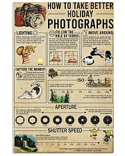 Photographer Take Better Holiday Poster 11x17 Poster front