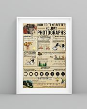 Photographer Take Better Holiday Poster 11x17 Poster lifestyle-poster-5