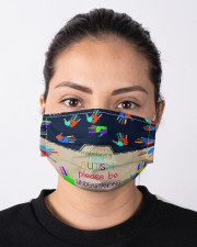 Autism Understanding Mask Cloth face mask aos-face-mask-lifestyle-01