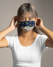 Autism Understanding Mask Cloth face mask aos-face-mask-lifestyle-16