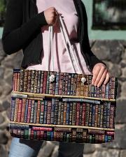 Librarian Bag Weekender Tote aos-weekender-tote-24x13-lifestyle-front-02