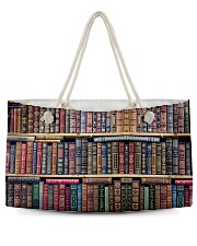 Librarian Bag Weekender Tote back