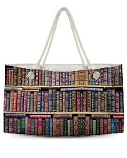 Librarian Bag Weekender Tote back