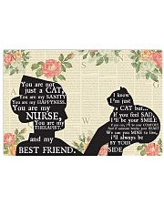 Nurse Just A Cat Poster 17x11 Poster front