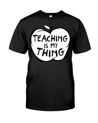 Teacher Thing Apple