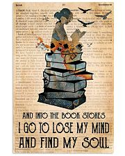 Book Girl Love Poster 11x17 Poster front
