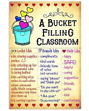 Teacher Bucket Filling Classroom Poster 11x17 Poster front