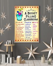 Teacher Bucket Filling Classroom Poster 11x17 Poster lifestyle-holiday-poster-1