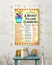 Teacher Bucket Filling Classroom Poster 11x17 Poster lifestyle-holiday-poster-3