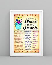 Teacher Bucket Filling Classroom Poster 11x17 Poster lifestyle-poster-5