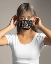 Teach Love Inspire Cloth face mask aos-face-mask-lifestyle-16