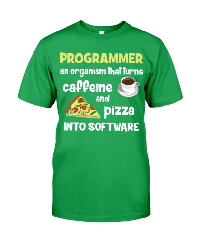 Turns caffeine and pizza into software