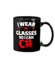 I wear glasses so i can Csharp Mug thumbnail