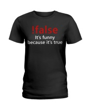 False Ladies T-Shirt thumbnail