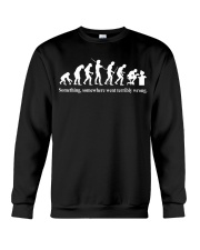 The Evolution of a Programmer Crewneck Sweatshirt thumbnail