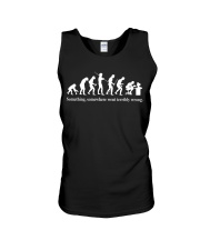 The Evolution of a Programmer Unisex Tank thumbnail