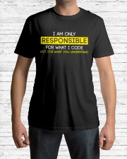 Programmer Responsible Classic T-Shirt lifestyle-mens-crewneck-front-1