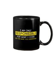 Programmer Responsible Mug thumbnail