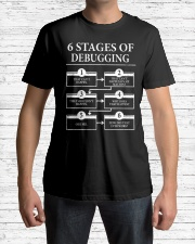6 stages of debugging Classic T-Shirt lifestyle-mens-crewneck-front-1