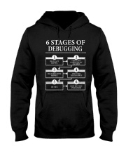 6 stages of debugging Hooded Sweatshirt thumbnail
