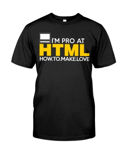 I'm pro at HTML