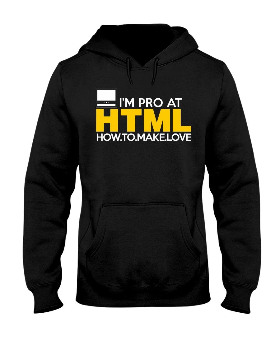 I'm pro at HTML Hooded Sweatshirt