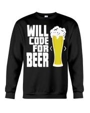 Will code for beer Crewneck Sweatshirt thumbnail