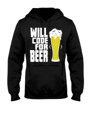 Will code for beer Hooded Sweatshirt thumbnail