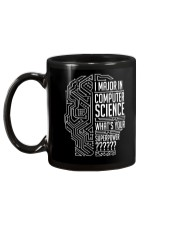 I Major In Computer Science Mug back