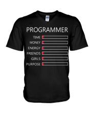 Programmer Time V-Neck T-Shirt thumbnail
