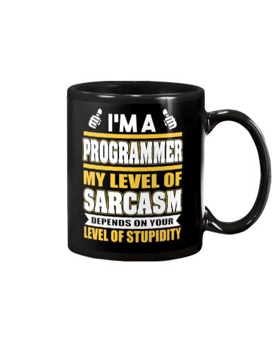 Level of sarcasm Programmer