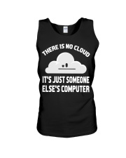 There is no cloud Unisex Tank tile