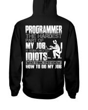 The hardest part of my job Hooded Sweatshirt thumbnail