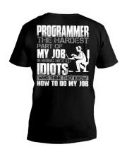 The hardest part of my job V-Neck T-Shirt thumbnail