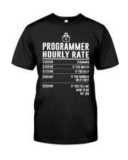 Programmer Hourly Rate Classic T-Shirt tile