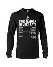 Programmer Hourly Rate Long Sleeve Tee thumbnail