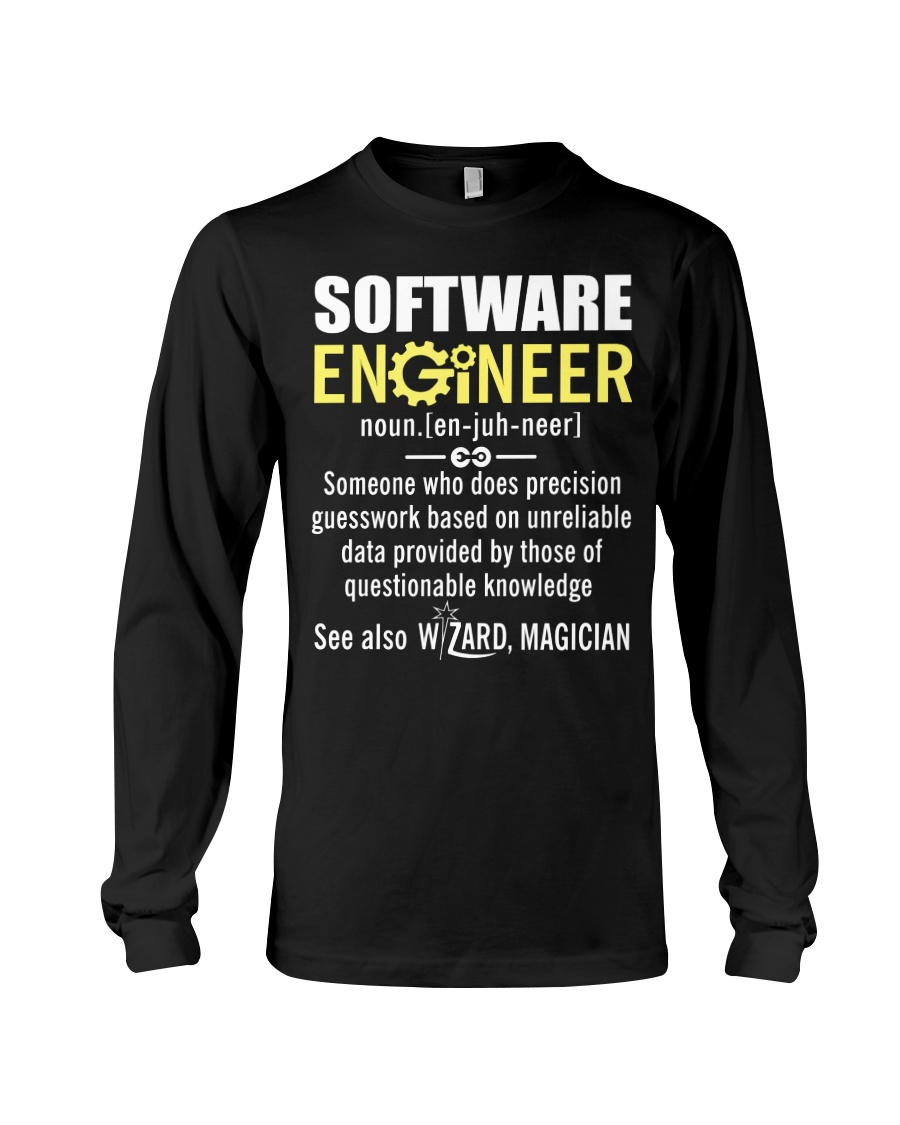 Software Engineer Long Sleeve Tee