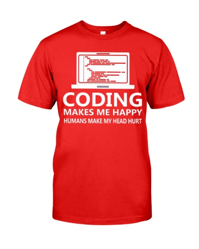 Coding makes me happy