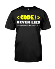 Code never lies Classic T-Shirt tile