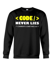 Code never lies Crewneck Sweatshirt thumbnail