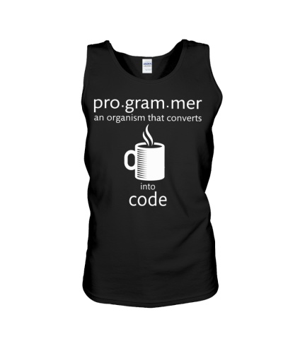 Programmer converts coffee into code